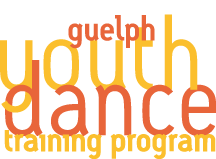Guelph Youth Dance Training Program Logo